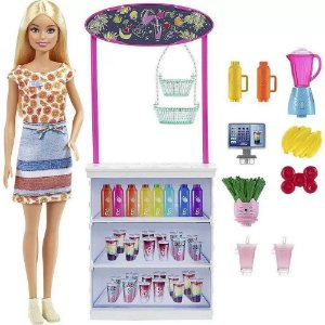 Barbie Conjunto Bar De Vitaminas Grn75 - Mattel