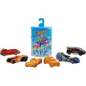 Hot Wheels Color Reveal Com 2 Carrinhos Mattel Gyp13