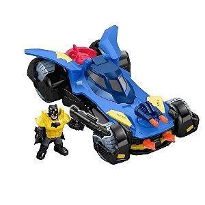 Batmovel 25cm Boneco Batman e Acessorios DC Imaginext Mattel