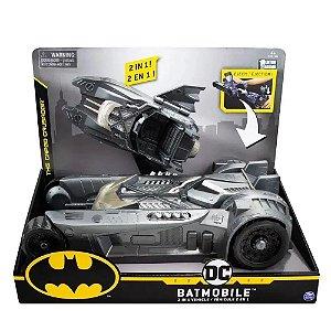 Batmovel Batmobile 2 Em 1 - Carro Batman Acopla e lanca Lancha - Sunny