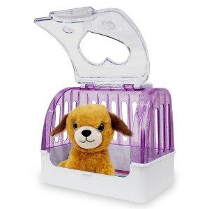 Cachorro de Pelucia Casinha  Amigos do Coracao Dm Toys