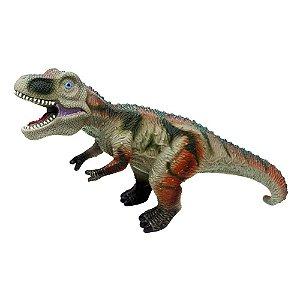 Dinossauros De Borracha Macio Colecao  6109 - Dm Toys