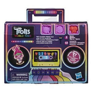 Bonecos Trolls Tiny Dancers Com Acessorios E8421 - Hasbro