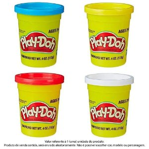 Massa De Modelar Play-doh Pote Individual 112g Cor Sortido