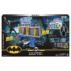 Batman Mission Playset Bat Caverna 3 Em 1 2198 Sunny