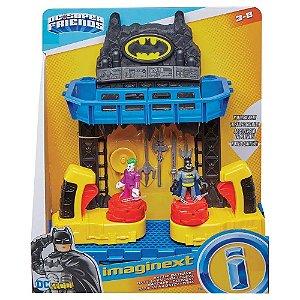 Playset Imaginext Batalha Na Batcaverna Dc Comics - Mattel