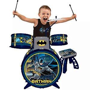 Bateria Infantil - Dc Comics - Batman -  BATMAN CAVALEIRO