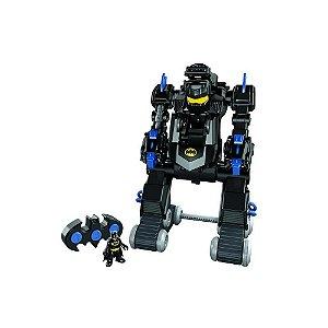 Imaginext Batman Batbot Com Controle Remoto Dmt82 Mattel