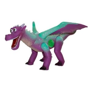 Dinossauro Dragao com Asas Articuladas - Emite Som Adijomar