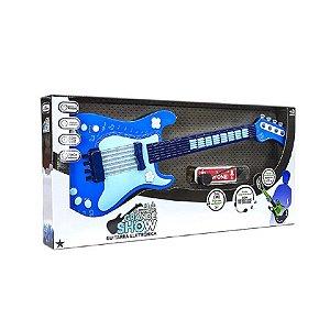 Guitarra Eletronica O Primeiro Grande Show Masculina - Unik