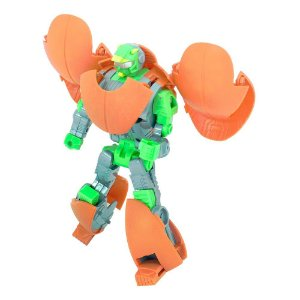 Boneco Robo Transformers Bola De Basquete Transmutavel