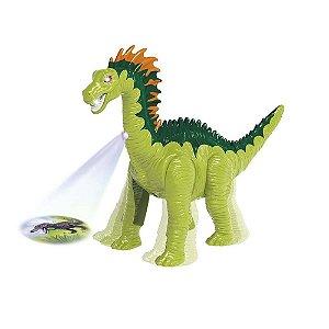Dinossauro Amargassauro Com Som E Luz - Dmt5567 - Dm Toys