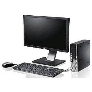Dell Core i5 com 8GB de Memória DDR3 e HD 500GB + Monitor 19, teclado e mouse