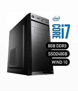 Micro Core i7 com 8GB de Memória e SSD 240GB