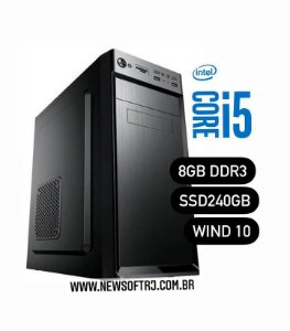 Micro Core i5 com 8GB de Memória e SSD 240GB