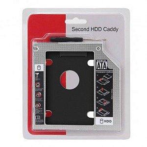 Gaveta Adaptadora para Segundo SSD/HDD 12.7mm ou 9.5mm