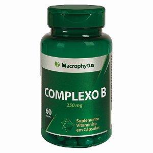 COMPLEXO B SOFTGEL 250MG 60CPS MACROPHYTUS
