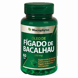 FIGADO DE BACALHAU 250MG 60CPS MACROPHYTUS