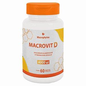 MACROVIT D 4.000ui 250MG 60CPS MACROPHYTUS