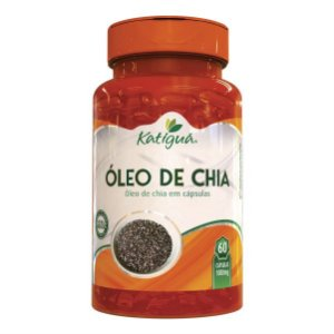 OLEO DE CHIA 60 CAPS 1000 MG KATIGUA