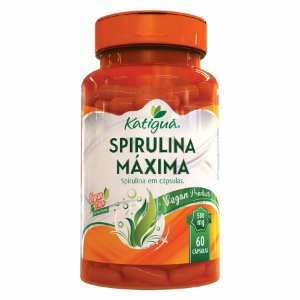 SPIRULINA MAXIMA 60 CAPS 500MG
