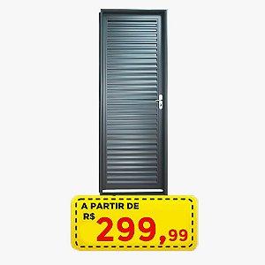 Porta Laminada 70/80 cm - Aço - Por Apenas R$ 299,99