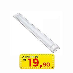Luminaria Linear 9w - por apenas R$ 19,90