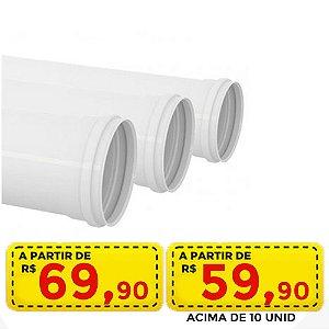 Tubo esg 4 = 100 mm - por apenas R$ 69,90 ou acima de 10 por R$ 59,90