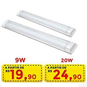 Luminaria led - 9w por R$ 19,90 - 20w por 24,90