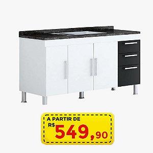 Gabinete AÇO ROMERO - 1,20 M POR APENAS R$ 549,90