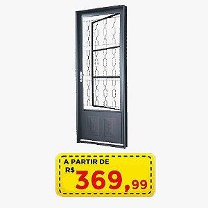 PORTA AÇO SALA 80 CM - POR APENAS R$ 369,99