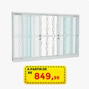 VITRO ESPECIAL 1,50 M AÇ0 SASAZAKI - POR APENAS R$ 849,99