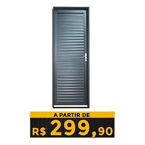 PORTA AÇO LAMINADA MAX STILLO 70/80 CM
