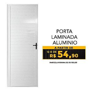 PORTA LAMINADA ALUMINIO