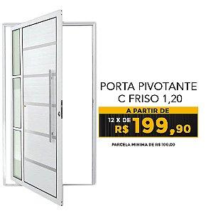 PORTA PIVOTANTE C FRISO 1,20