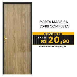 PORTA MADEIRA  70/80 COMPLETA