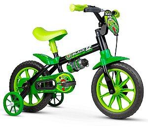 Bicicleta Infantil Aro 12 Black 12 Nathor