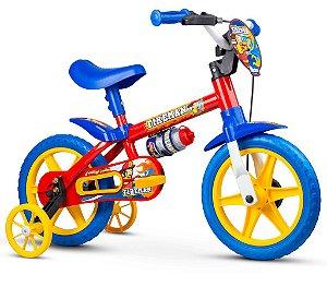 Bicicleta Infantil Aro 12 Fireman Nathor
