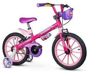 Bicicleta Infantil Aro 16 Top Girls Nathor