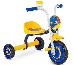 Triciclo Infantil You 3 Boys em Alumínio Nathor