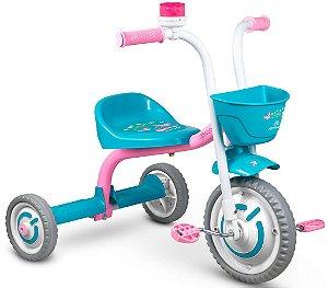 Triciclo Infantil Charm em Alumínio Nathor