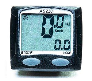 Ciclocomputador 11 Funções AS220 Assize Velocímetro