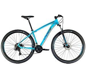 Bicicleta Aro 29 Hacker Sport OGGI Shimano Tourney 21 velocidades 2021 Azul/Tons de Azul