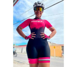 Macaquinho ERT Feminino New Elite Pink Power 2022 – Forro Gel
