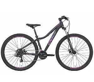 Bicicleta Feminina Aro 29 OGGI Float Sport MTB 21 Velocidades Grupo Shimano Tourney Freio Mecânico