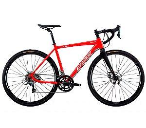 Bicicleta Aro 700 OGGI Velloce Disc Speed 16 Velocidades Grupo Shimano Claris Garfo Carbono