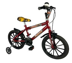 Bicicleta Infantil Aro 16 Tutuzinho Mayva com Buzina Fon Fon