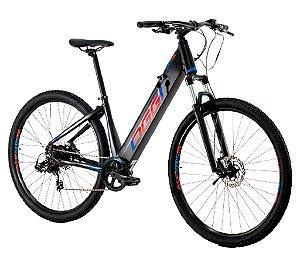 Bicicleta Elétrica Aro 29 OGGI Flex 200 Freios Hidráulicos Shimano
