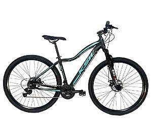 Bicicleta Aro 29 KSW Feminina 21 Velocidades Grupo Shimano Tourney