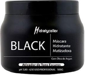MÁSCARA HIDRATANTE MATIZADORA BLACK MAIRIBEL ÓLEO DE ARGAN 500GRAMAS